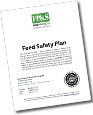 cover image for the FP&S Feed Safety Plan